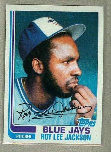 1982 Topps Baseball #71 Roy Lee Jackson Blue Jays Pack Fresh