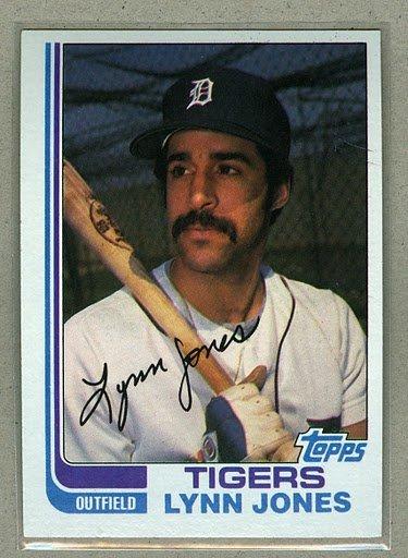 1982 Topps Baseball #64 Lynn Jones Tigers Pack Fresh