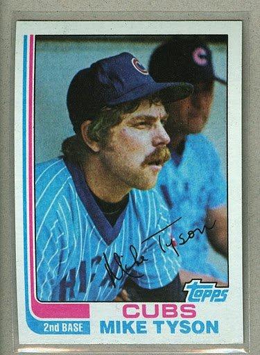 1982 Topps Baseball #62 Mike Tyson Cubs Pack Fresh