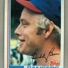 1982 Topps Baseball #50 Buddy Bell Rangers Pack Fresh