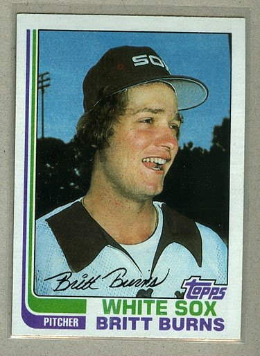 1982 Topps Baseball #44 Britt Burns Pack Fresh