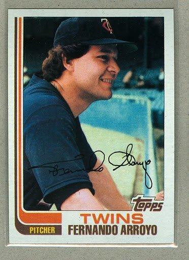 1982 Topps Baseball #18 Fernando Arroyo TwinsPack Fresh