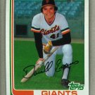 1982 Topps Baseball #17 Darrell Evans Giants Pack Fresh