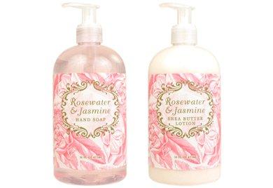Rosewater Jasmine Hand Lotion & Hand Wash