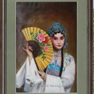 ART SALE ORIGINAL OIL PAINTING Beijing opera FIGURE