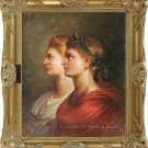 Oil Painting-Repro of Peter Paul Rubens-A Roman Couple