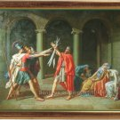 OLD MASTER:Jacques-Louis David,Oath of the Horatii