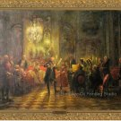 The Flute Concert of Sanssouci by Adolph von Menzel