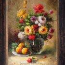 """ART Impressionism OIL PAINTING FLOWER Still Life 24x36"""""""