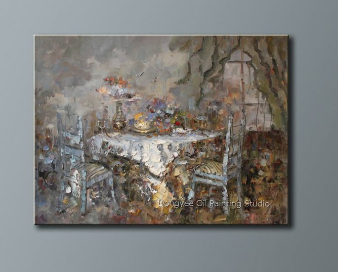 Heavy oil painting qiality art sale dining room 36 x48 for Dining room paintings sale
