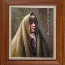 ART ORIGINAL OIL PAINTING Indian lady PORTRAITS ON SALE