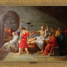 OLD MASTER:Jacques-Louis David,The Death of Socrates