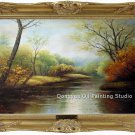 ART SALE OIL PAINTING landscape FREE SHIPPING