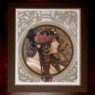 Art Painted Oil Painting Repro Alphonse Mucha- Zodiac