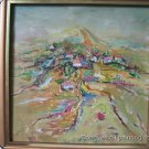 "Framed ORIGINAL OIL PAINTING SIGNED BY Du""landscape"""