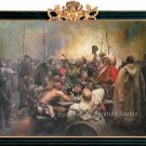 The Reply of the Zaporozhian Cossacks to Sultan-REPIN