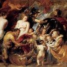 Custom art-Rubens-Allegory on the Blessings of Peace