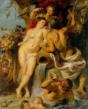 Custom-Peter Paul Rubens-The Union of Earth and Water