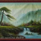 30%OFF HUGE OIL PAINTING fairyland drawn by knife