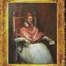 Pope Innocent X. 1650 REPRO OF Diego Velasquez oil