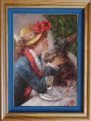 Impressionist OIL PAINTING ON CANVAS Renoir Figures