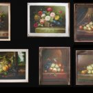 Wholesale lots of 10 oil paintings-Still life 31x41cm