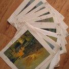 Wholesale lots of 9 oil paintings-Landscape-seascape