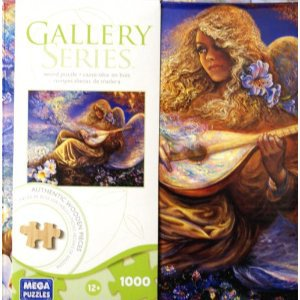 GALLERY SERIES AUTHENTIC WOOD PUZZLE ANGEL MELODIES 1000 PIECE PUZZLE