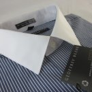 NEW GEOFFREY BEENE Mens Dress Shirt   XLarge 17  32/33  Fitted Wrinkle Free NWOT