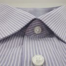 NEW CALVIN KLEIN Mens Dress Shirt   Purple  Large 16  32/33 NWT $52.50