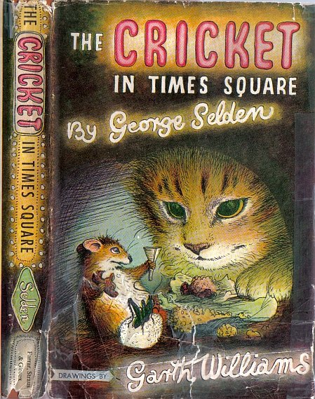 The Cricket In Times Square by George Selden 1960 HB/DJ VTG