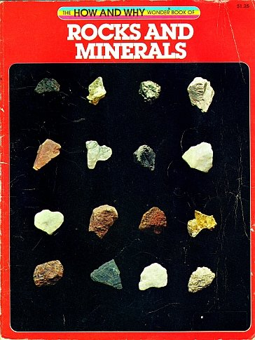 The How and Why Wonder Book of Rocks and Minerals by Nelson W. Hyler Illustrated 1983