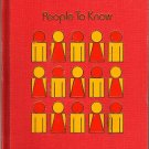 ChildCraft How & Why Library Volume 13 - People To Know 1971
