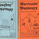 2 cookbooks - Culinary Potpourri and Devilish Desserts Indiana Republican State Employees