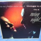 The Ray Charles Chorus Sings Of Things To Do On A Rainy Night LP Record 33⅓ VINTAGE