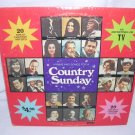 Hymns & Songs For A Country Sunday-20 Artist LP 33⅓ Gospel Christian J Cash,L Lynn,R Price,P Cline