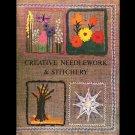 Creative Needlework & Stitchery crafts by Antoinette Lewis 1967 VTG