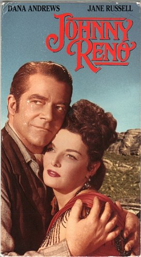 Johnny Reno (VHS, 1993) Western Dana Andrews, Jane Russell - Director Springsteen