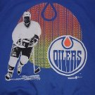Edmonton Oilers Hockey NHL Sweatshirt Blue Alberta Canada Men XL Sportacus NEW- FREE S&H in USA