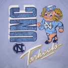 University North Carolina UNC Tar Heels Sweatshirt Child 10/12 Gray/Grey VTG NEW FREE S&H in USA
