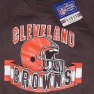 Cleveland Browns Football Sweatshirt Child 4 NFL official product Garan VTG NEW FREE S&H in USA