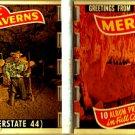 """Jessie James Hideout Meramec Caverns 10 Album Prints in Full Color 1970 2¾""""x4"""" VINTAGE"""