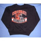 Cincinnati Bengals Sweatshirt Child Ohio Football NFL Black Garan F Vintage NEW FREE S&H in USA