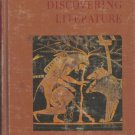 Discovering Literature by Janeway, McFarland, Jewett, Lowey 1968 VINTAGE