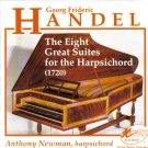 Georg Frideric Handel: The Eight Great Suites for Harpsichord (1720): Anthony Newman CD 1992