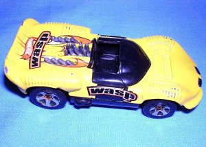 1997 Hot Wheels Chaparral 2 Wasp Yellow Good Used Condition FREE SHIPPING USA