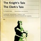 Chaucer:The Knight's Tale/The Clerk's Tale (Studies In English Literature) by Elizabeth Salter 1962