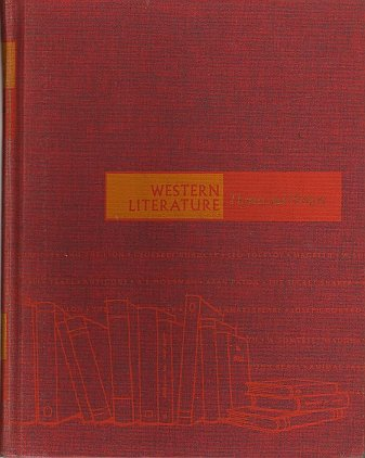 Western Literature, Themes and Writers by G. Robert Carlsen 1967 VINTAGE