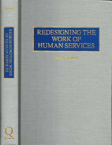 Redesigning the Work of Human Services by John O'Looney Hardback 1996 330 pages