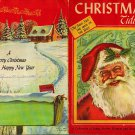Christmas Tidings~A Collection of Songs, Stories, Pictures:Old Saint Nick The Man Of The Year PB VTG